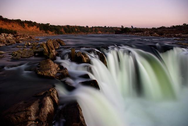 Dhuandhar Waterfall Narmada River Jabalpur India Flickr