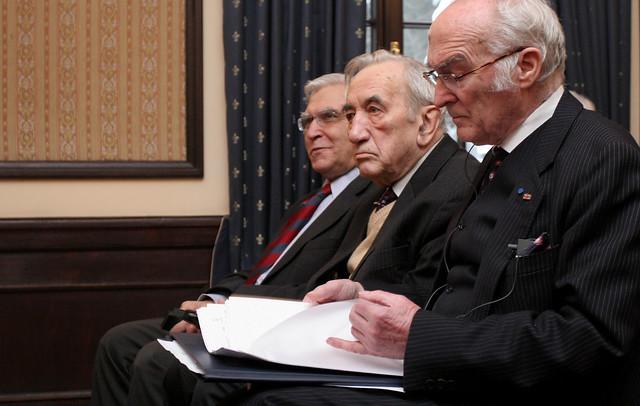 Tadeusz Mazowiecki: Meeting Of Weimar Triangle Ministers For European Affairs
