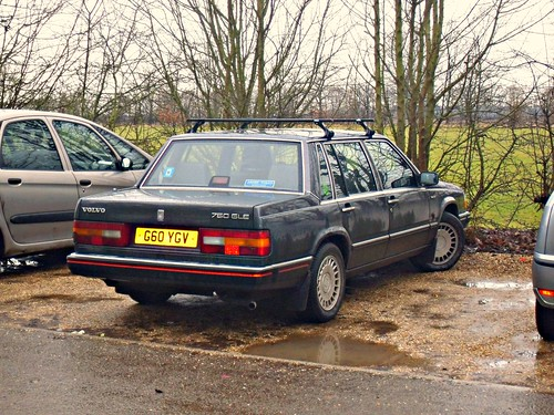 1989 Volvo 760 Gle Saloon Strange Styling Seemed To