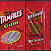 Ford Gum - Just Born - Hot Tamales sugar free cinnamon flavored gum package - 2009