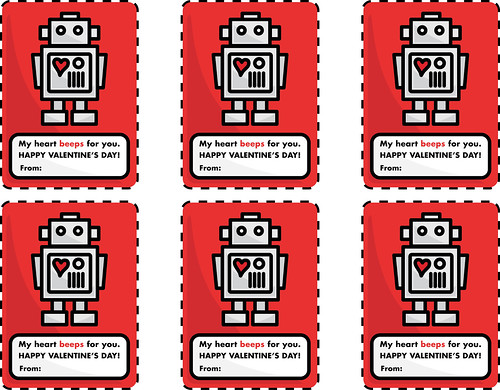 robot Valentines for you | by ckilgore