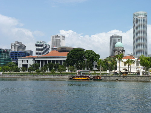 Singapore River Cruise - Parliament | by Loeffle