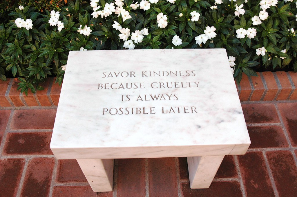 Jenny Holzer S Quot Survival Savor Kindness Because Cruelty I