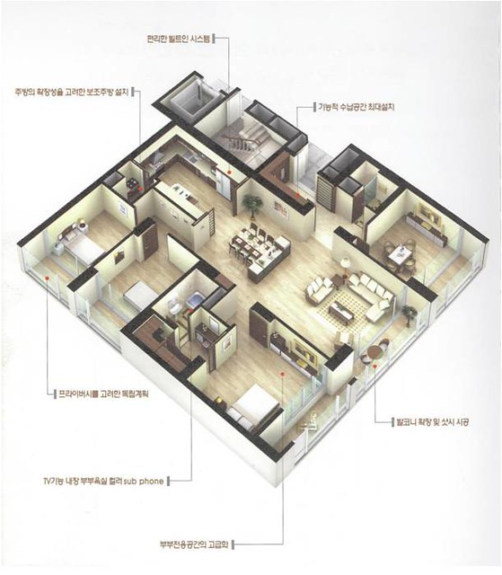 Graphic Floor Plan Usag Daegu South Korea Flickr