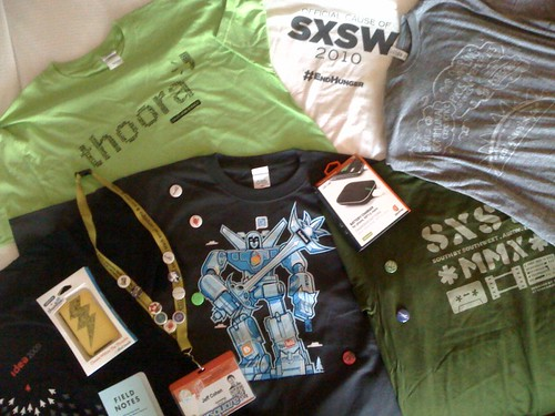 Sxsw swag #ncrulessxsw | by jeffreylcohen