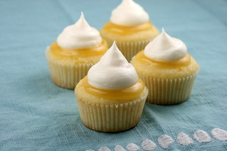 Lemon Meringue Cupcakes (Martha Stewart) | by Food Librarian