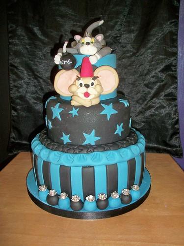 Tom And Jerry Birthday Cake Pan