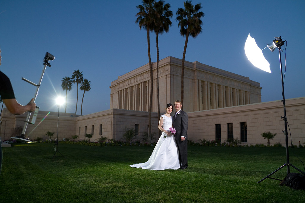 Wedding Photography Arizona: Arizona Wedding Photographer Setup