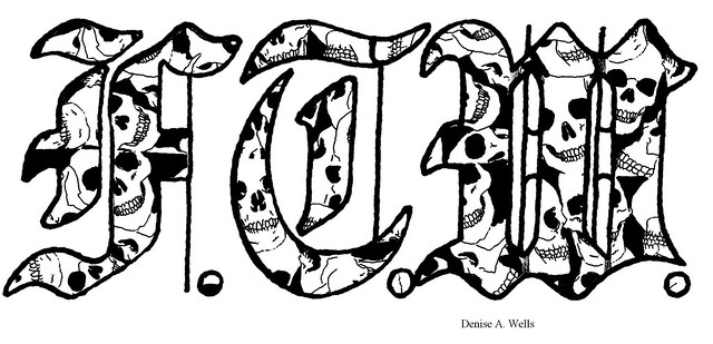 Ftw fuck the world tattoo design by denise a wells for Ftw tattoo meaning
