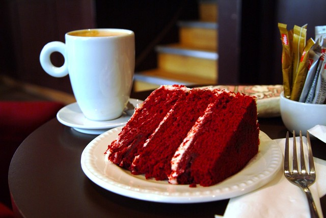 Red Velvet Cake This Is Seriously Red Cake From The