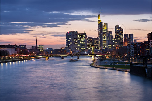 Frankfurt in the blue hour | by Vicco Gallo