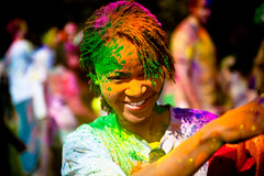 Standford holi festival : pretty girl | by tibchris