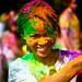 Standford holi festival : pretty girl