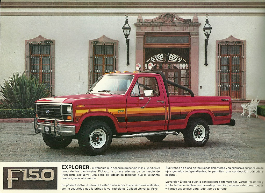 ford 4x4 pick up