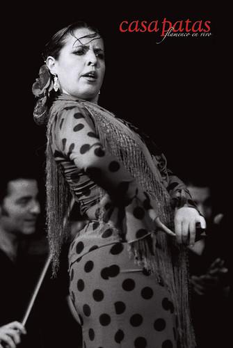 Manuela López, bailaora. Foto: Martín Guerrero