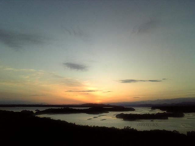 登茂山展望台 - Observation deck of Tomoyama // 2010.02.12 - 20