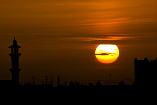 Doha sunset | Sunset i...