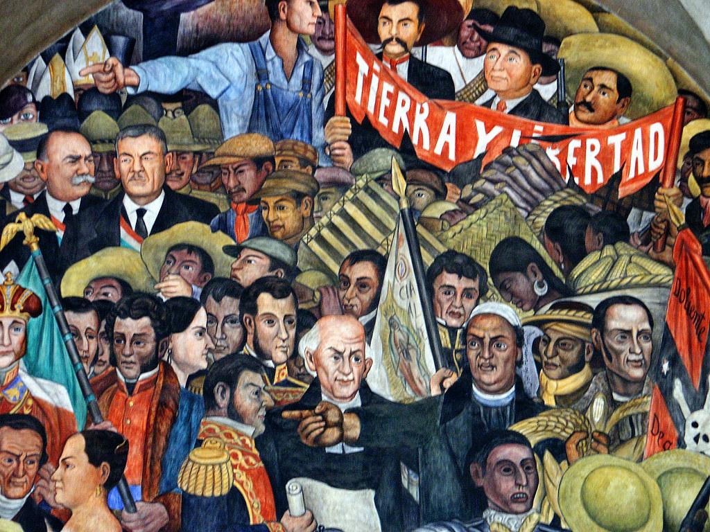 Mexico distrito federal palacio nacional murales de die for Diego rivera mural palacio nacional