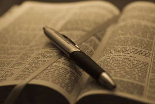 Bible and Pen