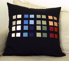 "Color-Block 24"" Pillow 