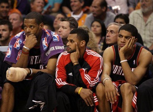 sad blazers bench 3 | by basketbawful