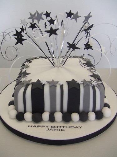 CAKE - MENS MONOCHROME by Jules Jules enquiries ...