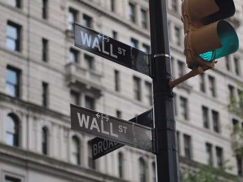 wall street sign | by nakashi
