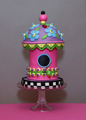 Birdhouse Whimsy | by Whimsy Cakes