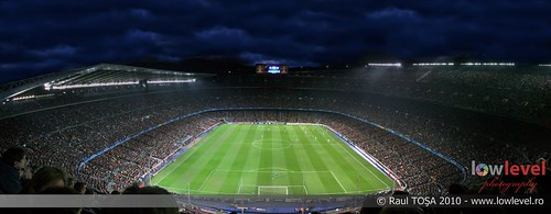 Camp Nou Panorama FC Barcelona Arsenal 16 Images
