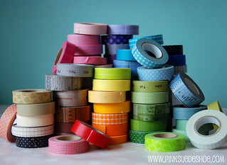 Big pile of tape 2 [explored] | by pinksuedeshoe