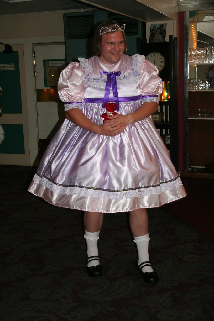 Fairy Sissy Princess In Her Purple Dress This Is Another