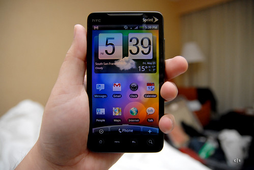 HTC Evo 4G | by closari