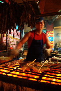 Grill Cook, Yunnan China | by The Hungry Cyclist