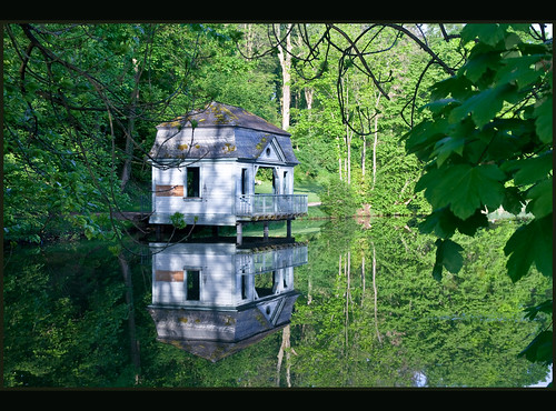 Boathouse reflections | by Bert Kaufmann