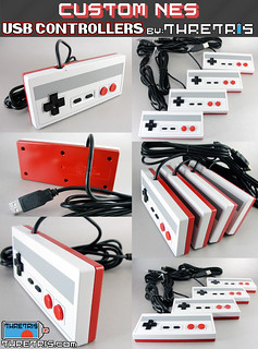USB NES CONTROLLERS | by KyleBunga