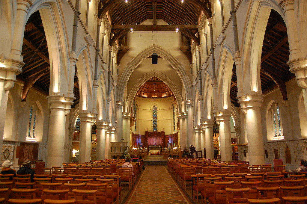 Christ Church Picture: Inside Christchurch Cathedral