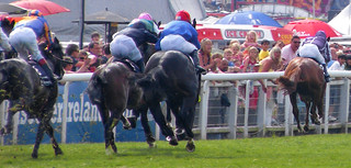 Epsom Derby 2010 - going for home | by monkeywing