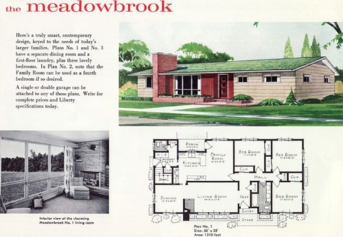 Liberty Homes Meadowbrook Plan 1960 Ethan Flickr