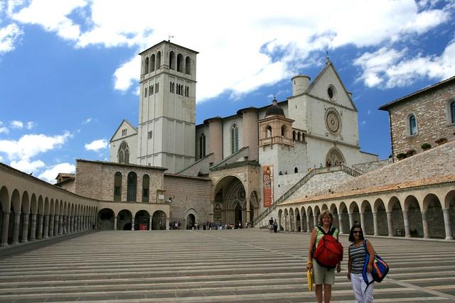 basilique st fran 231 ois d assise ombrie italie le sanctua flickr photo