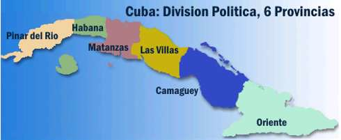 cubaall  Mapa que marca esquematicamente la divisin polit  Flickr