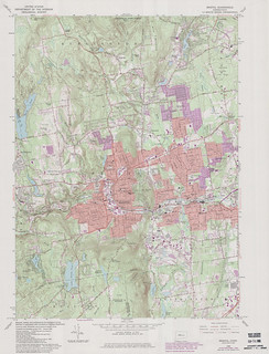 Bristol Quadrangle 1984 - USGS Topographic 1:24,000 | by uconnlibrariesmagic
