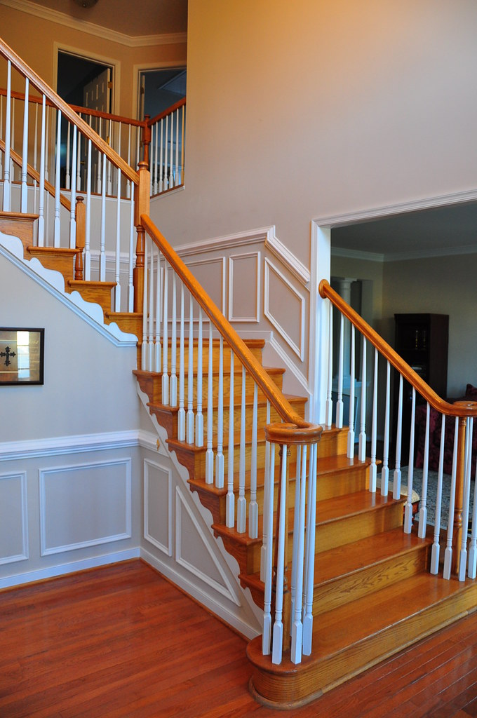 Molding For Stairs Www Thefinishingcompany Net We Are Cust Flickr