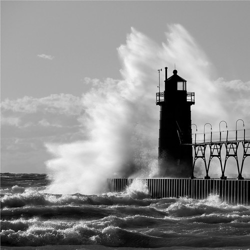 Blustery Day in South Haven | by PhotoDocGVSU