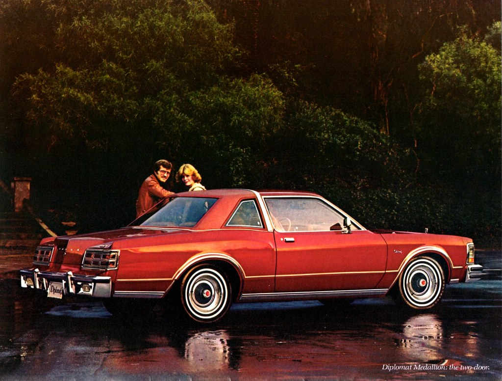 Chrysler >> 1977 Dodge Diplomat Medallion Two-Door   This was the first …   Flickr