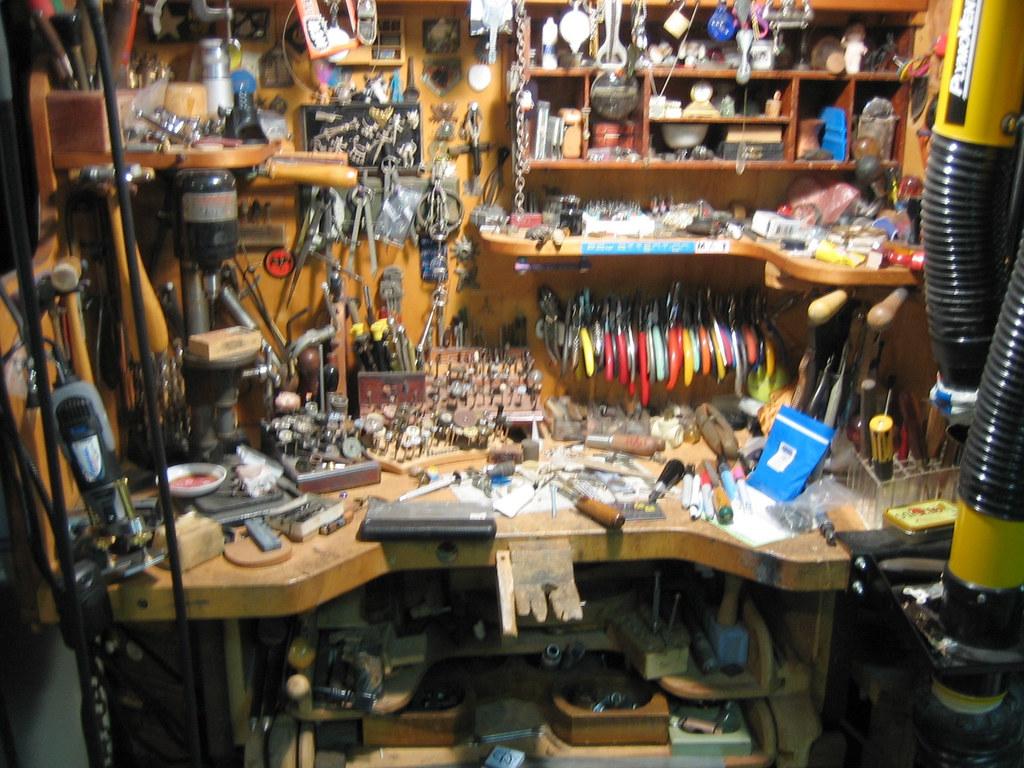 Jewelers Bench BENTFORMS Mat Citrenbaum Flickr