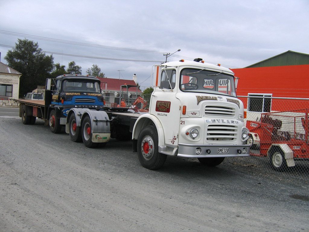 Leyland Hippo at Balclutha | Mc Donald Transport at Balcluth… | Flickr