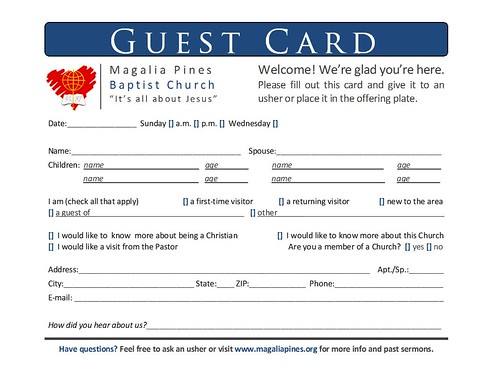 Guest Card Hi All I Have To Redo This One It Doesn T