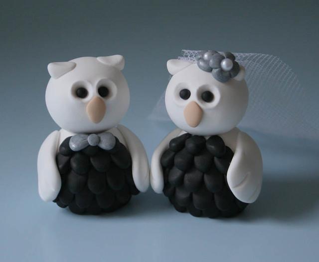Owl Wedding Cake Topper Esther Flickr