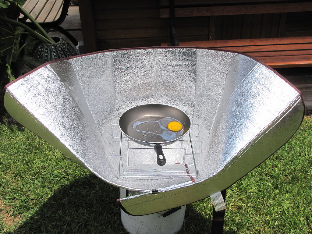 Estufa Solar Port Til Como Cocinar Un Huevo En 12
