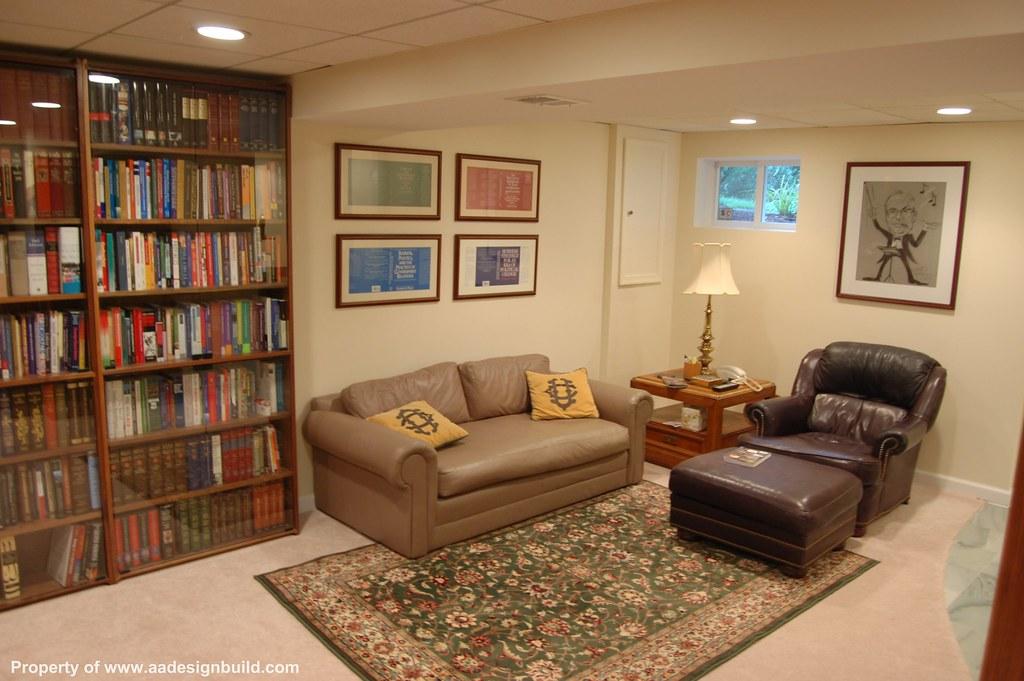 Finished Basement Design And Remodeling, Home